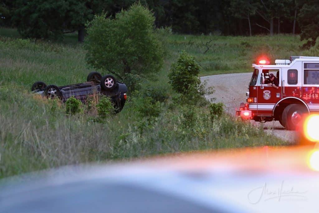 2 teens injured, one seriously, after rollover crash at Glacial Park Conservation Area in Ringwood
