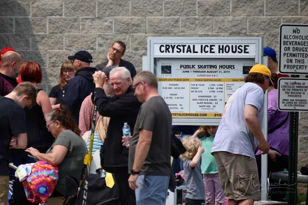 Crystal Lake ice rink evacuated after elevated carbon monoxide levels