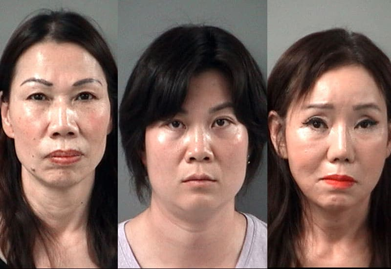 3 women charged with prostitution after undercover stings at Crystal Lake spas