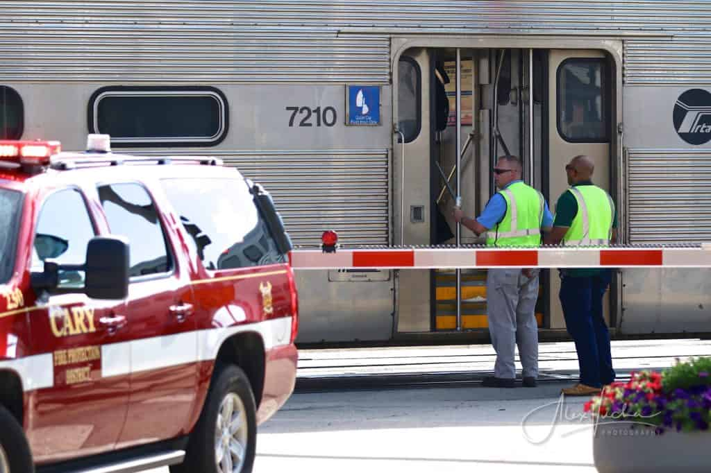Woman struck and killed by Metra train in Cary