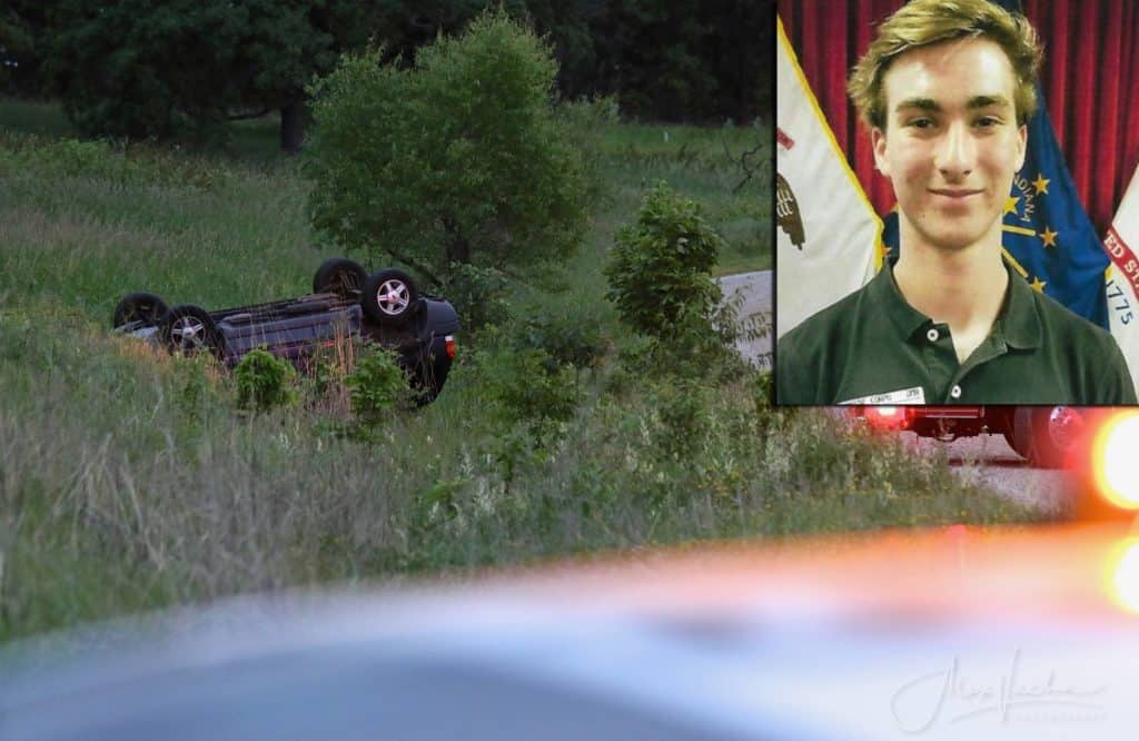 17-year-old boy dies following rollover crash at Glacial Park Conservation Area in Ringwood