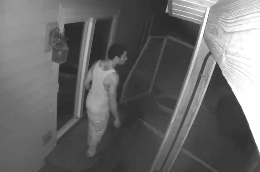 Police release video of burglary suspect after 6 Gurnee homes burglarized