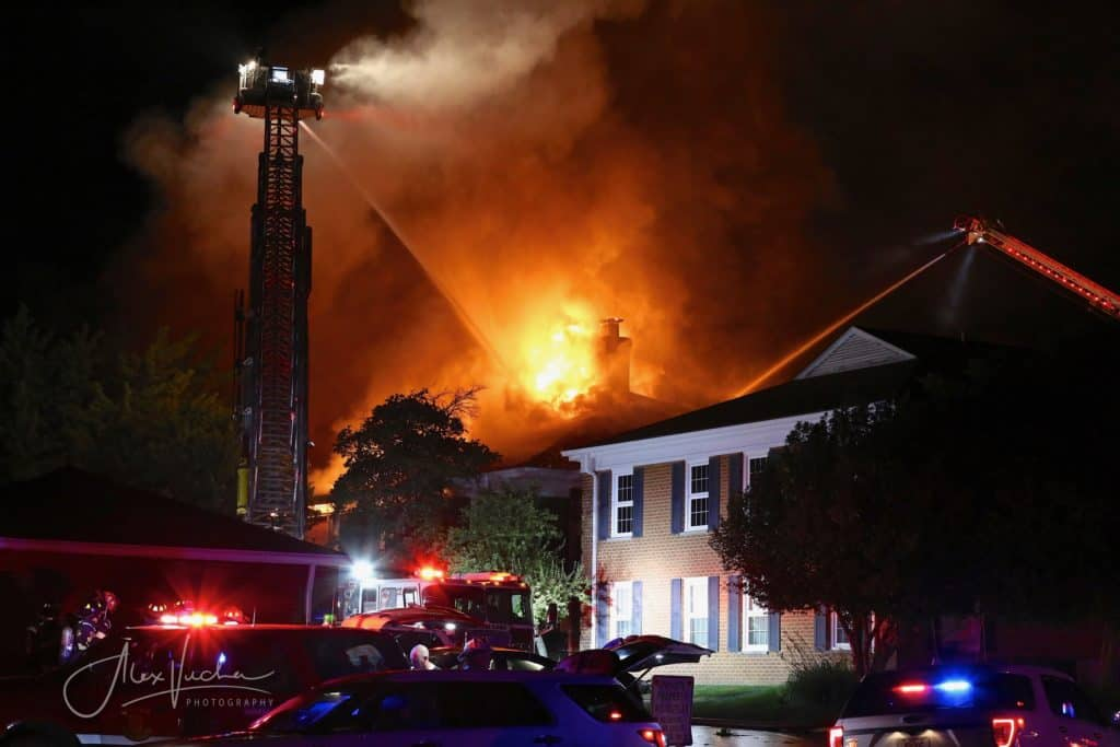 3-alarm fire breaks out at Crystal Lake apartment complex; residents displaced