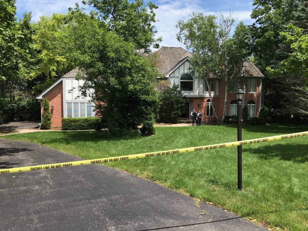 Police: Wife fatally shot during struggle with husband over gun at Long Grove home