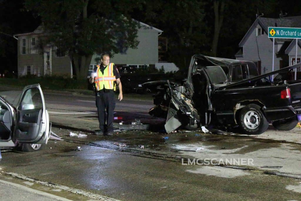 2 critically injured after high-speed, head-on crash in Round Lake Beach