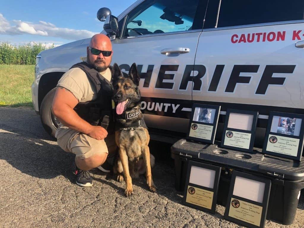 Lake County Sheriff explosives detection Canine Boomer earns numerous national titles
