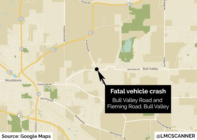 81-year-old woman dies after being hit by car in Bull Valley
