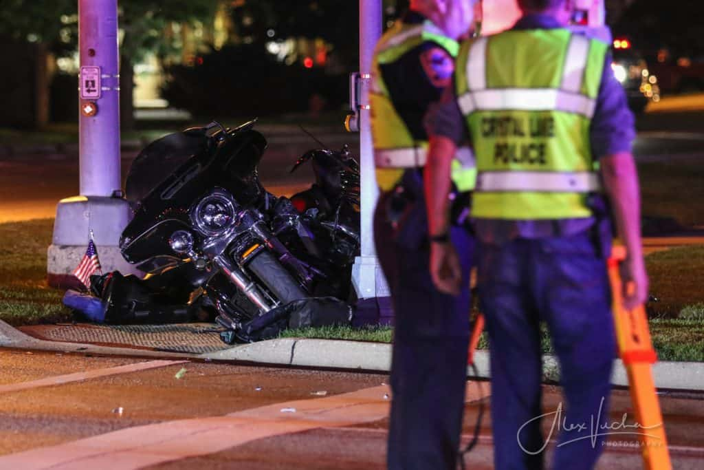Flight For Life called after 2 motorcycle riders ejected during hit-and-run crash in Crystal Lake