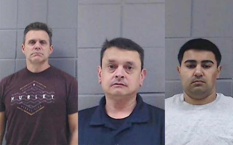 Three men arrested during human trafficking sting in Woodstock