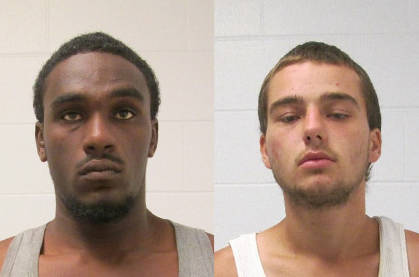 Two charged after driving stolen car from Gurnee, burglarizing cars in Libertyville