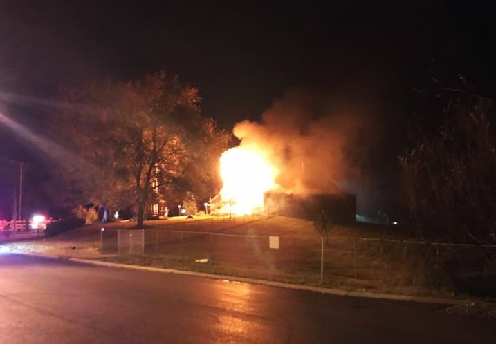Paulus Park Barn catches fire in Lake Zurich, causing winter farmer's market to be postponed