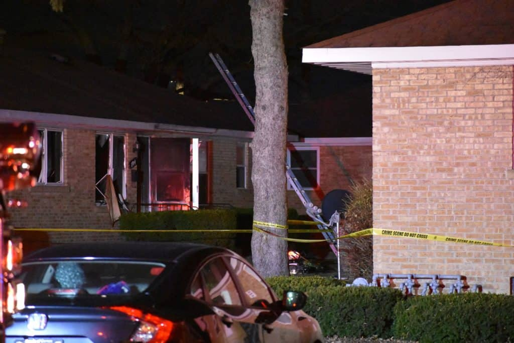 Man in critical condition after being rescued from apartment fire in Waukegan