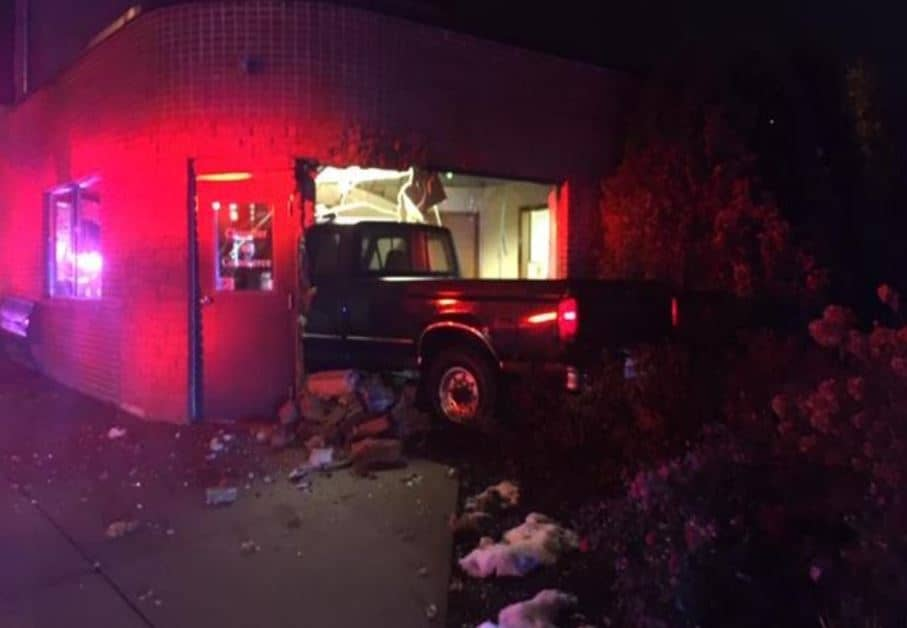 Driver charged with DUI after crashing into Antioch Chamber of Commerce