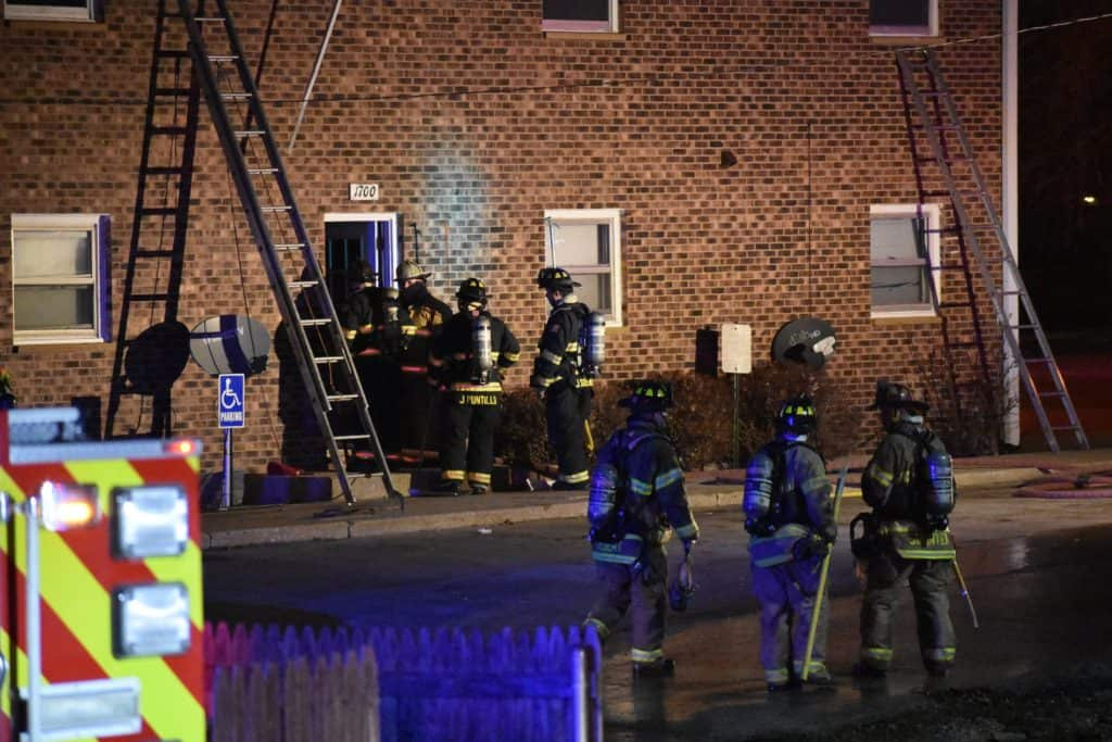 13-year-old hospitalized after explosion, fire at Zion apartment building