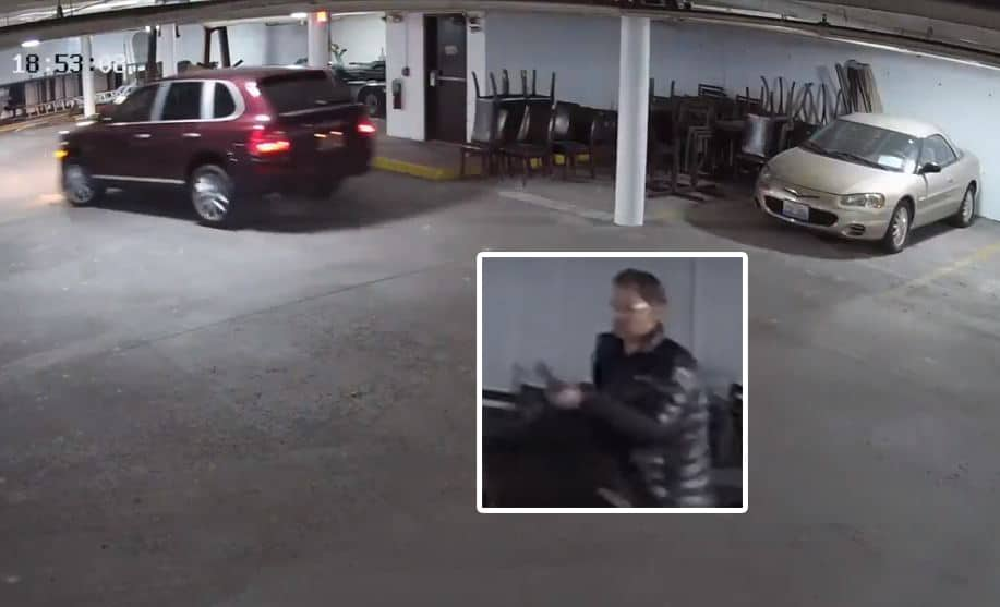 Police searching for man who stole thousands of dollars worth of chairs in Lake Forest