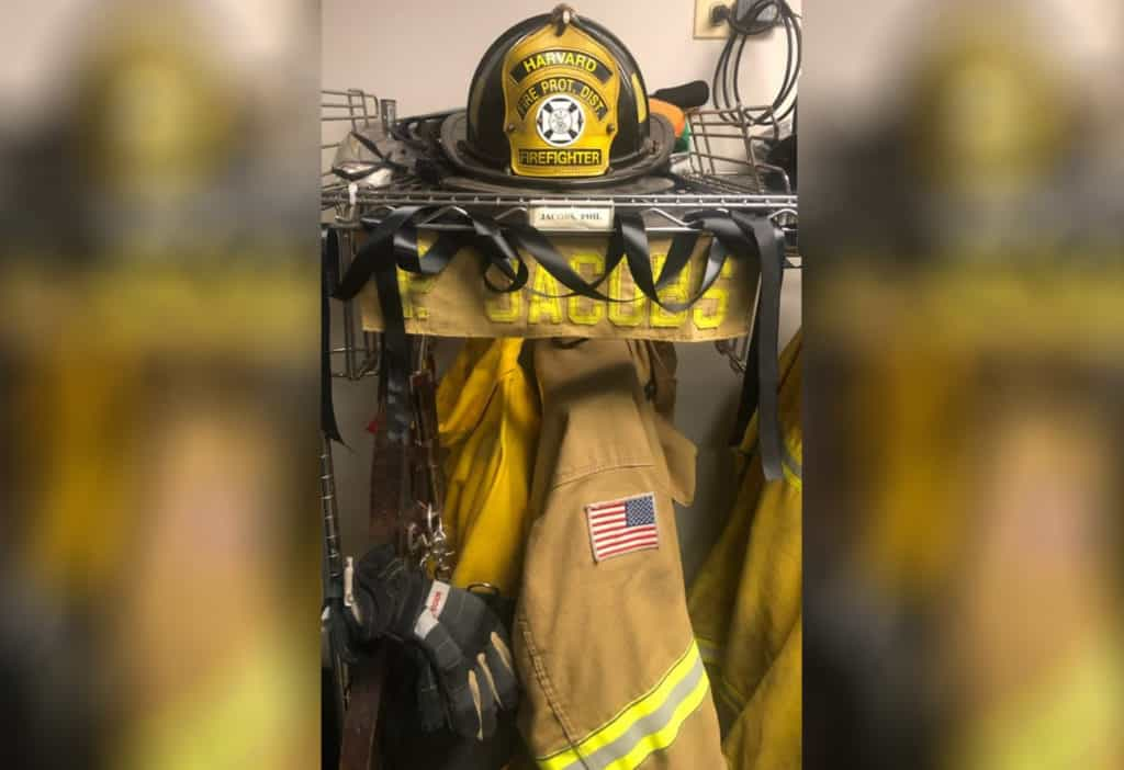Harvard firefighter dies following battle with cancer