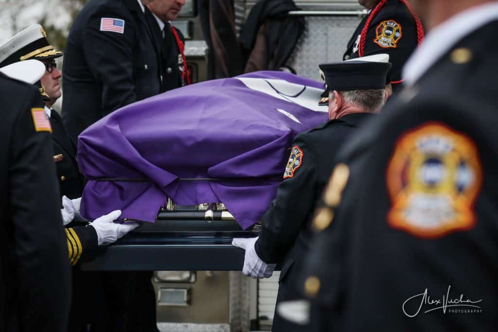 PHOTOS: Veteran Harvard firefighter Phil Jacobs laid to rest
