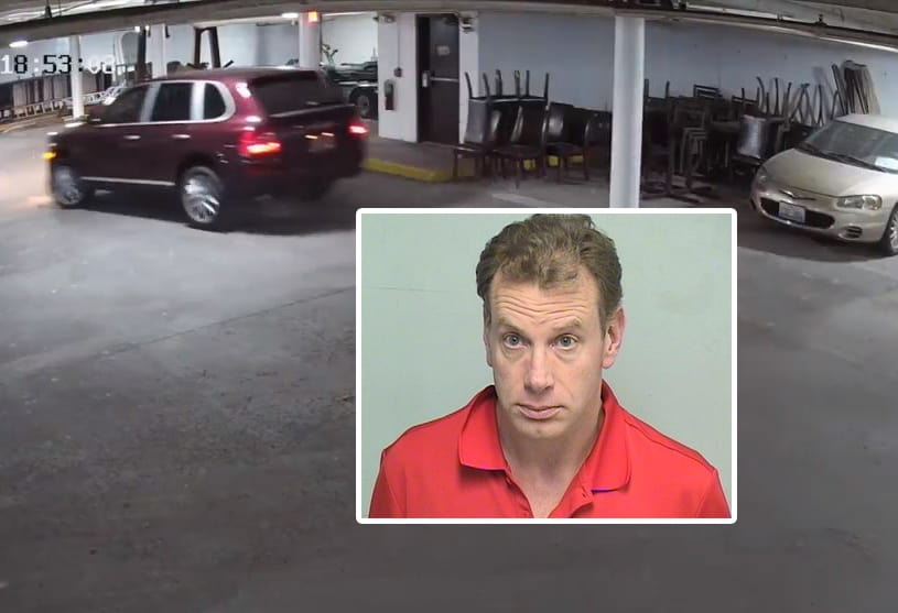 Man charged in connection with theft of chairs worth thousands of dollars in Lake Forest