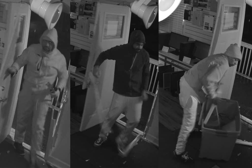 3 men burglarize Cary store of almost $8K in electronics, police say