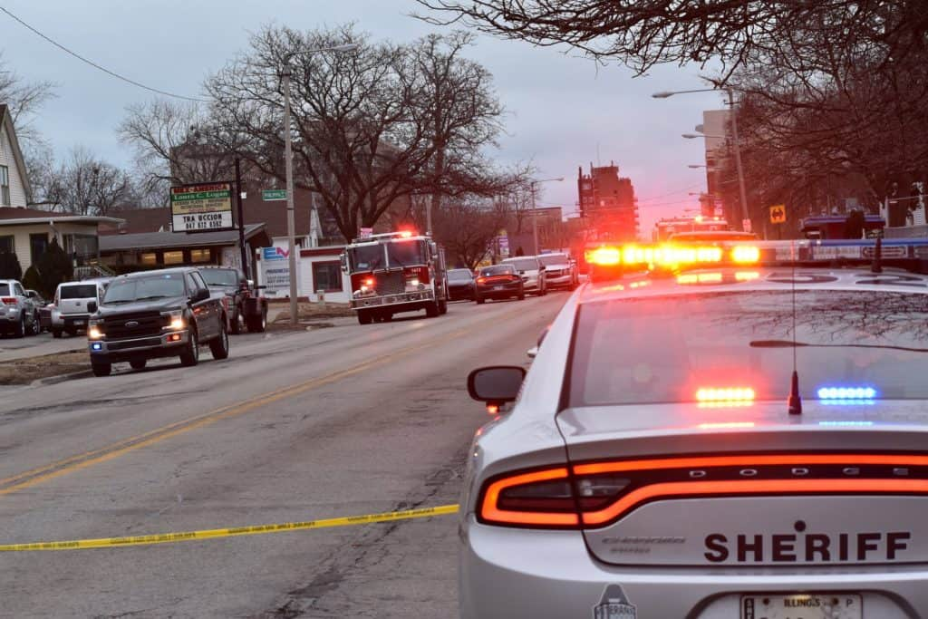 Man charged after attempting to set sheriff's deputies on fire, barricading himself in Waukegan