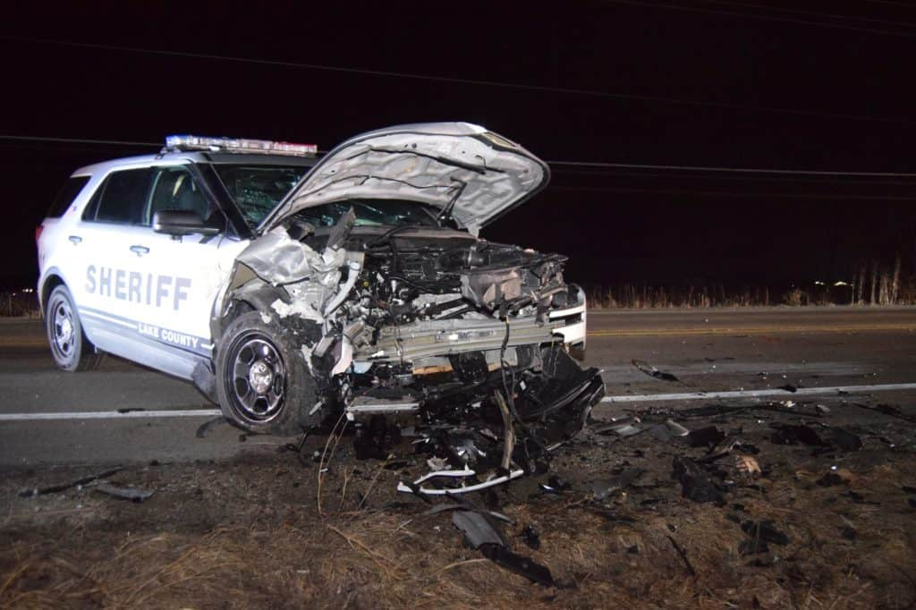 Sheriff's deputy arrests fleeing drunk driver who struck his squad car head-on near Antioch