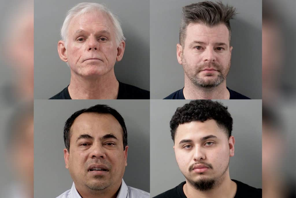 Human Trafficking Task Force arrests 4 men during prostitution sting in Crystal Lake