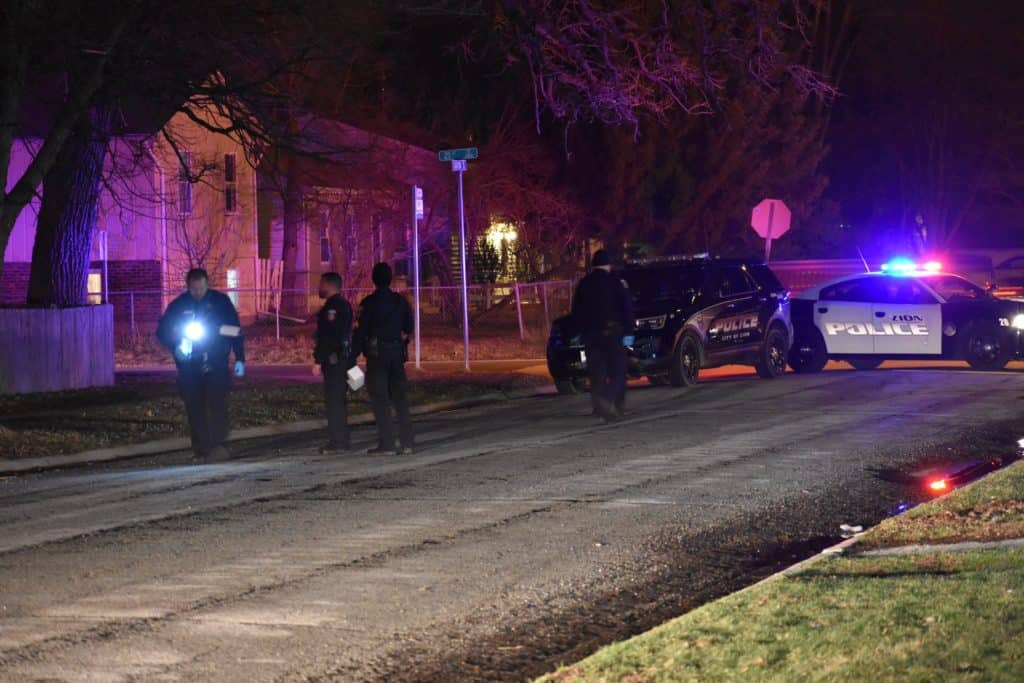 Juvenile, woman shot during shooting at Zion apartment complex