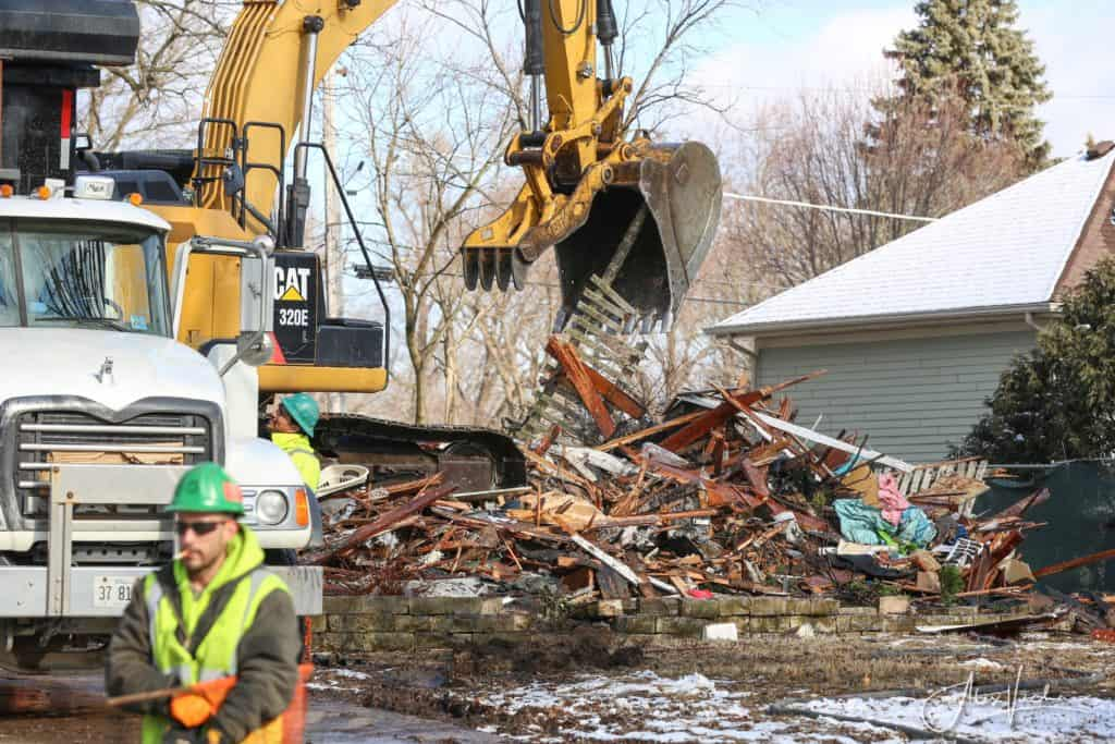 AJ Freund's Crystal Lake home demolished in under an hour