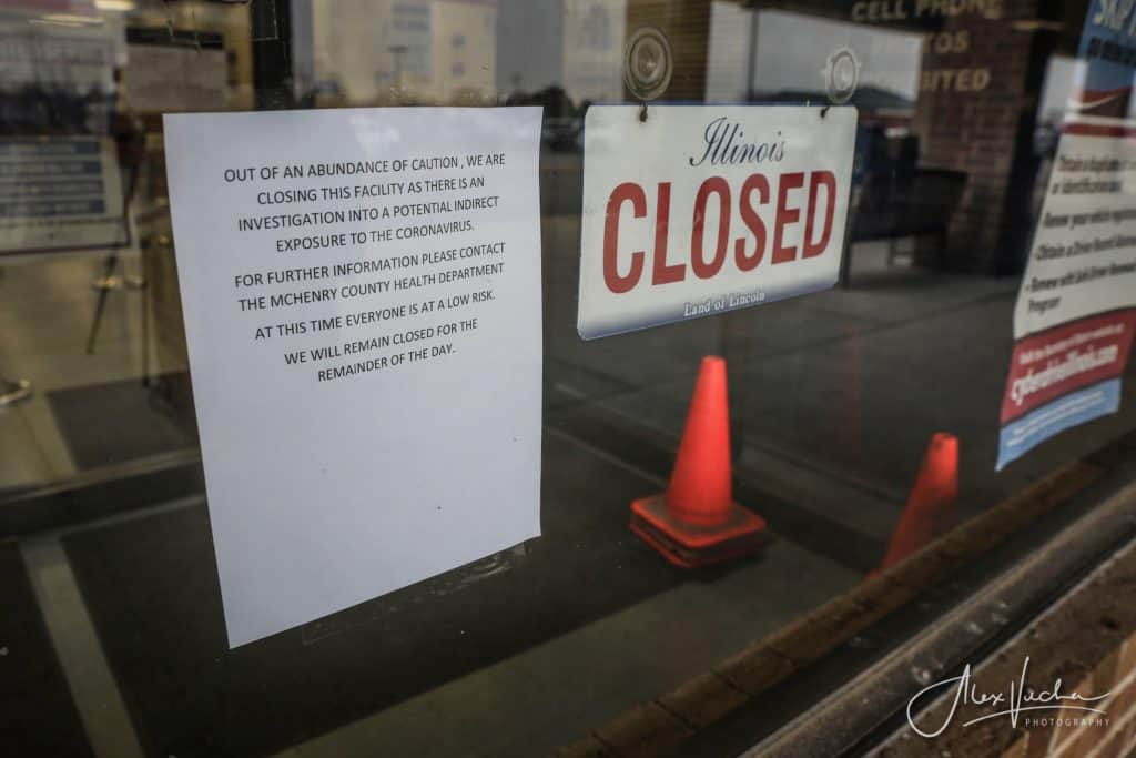McHenry County officials say there was no reason to close Woodstock DMV due to coronavirus