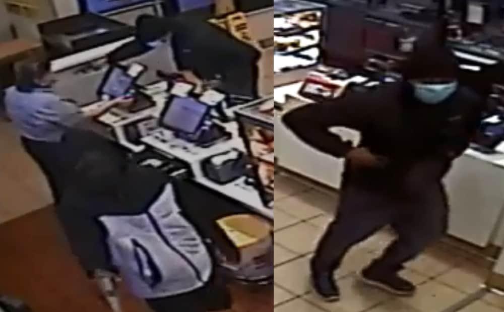 Gunmen wearing surgical masks rob McDonald's restaurant in Zion