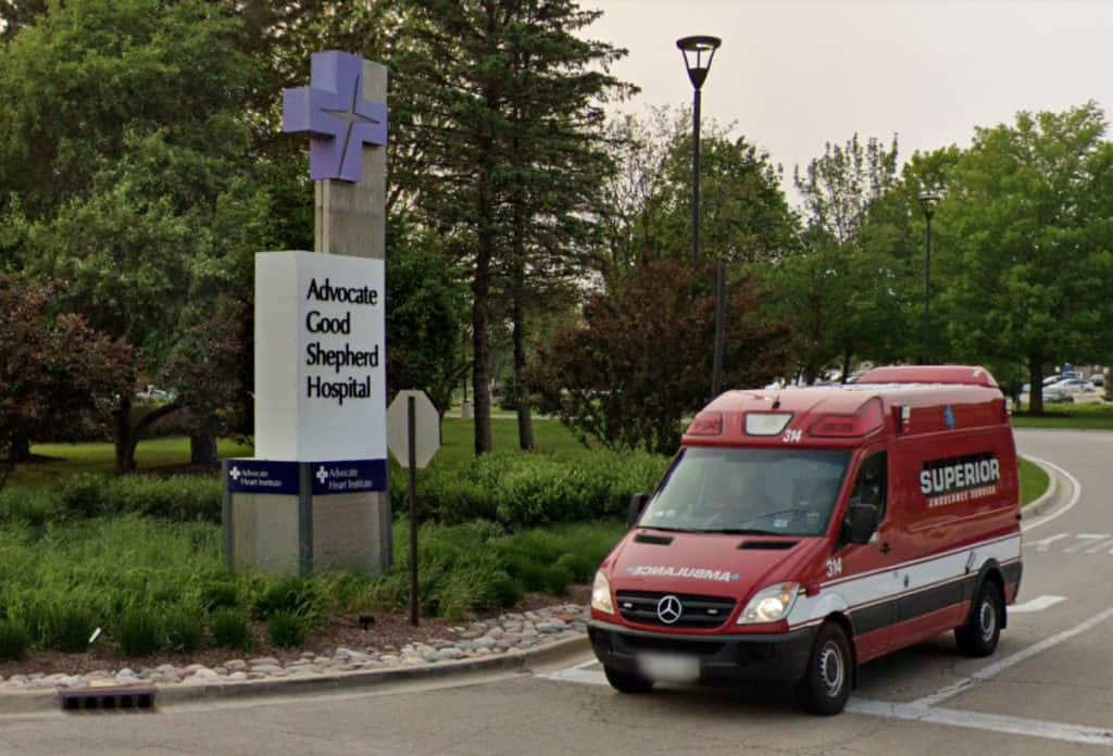 McHenry County's first coronavirus case is being treated at Good Shepherd Hospital in Barrington