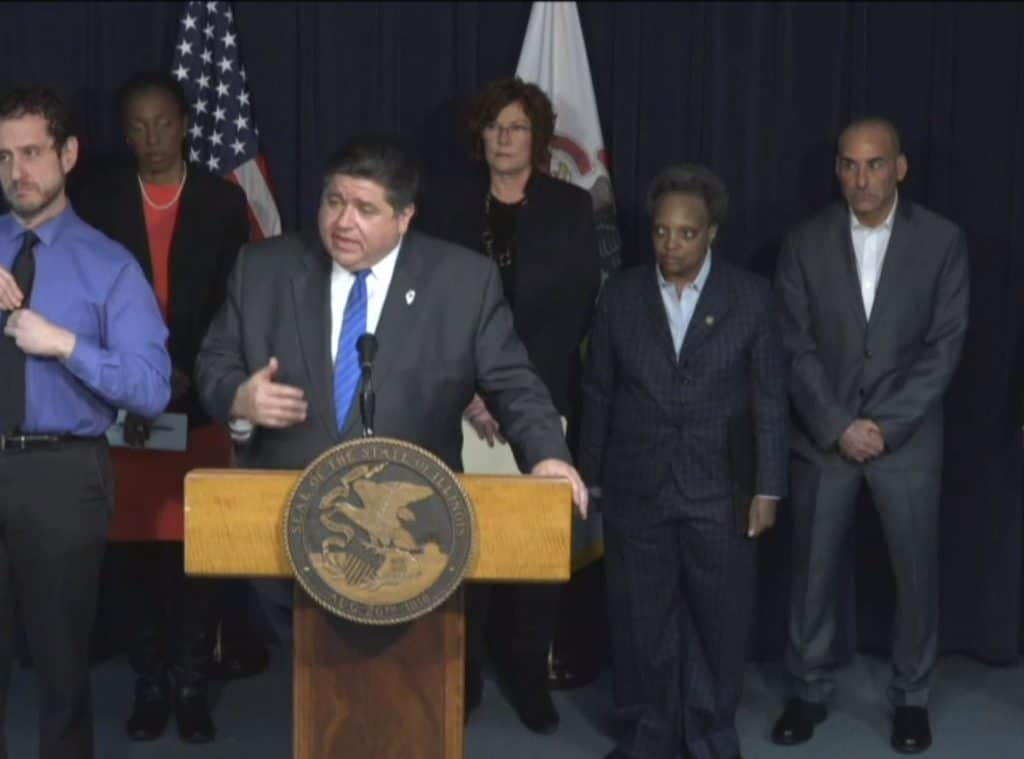 Pritzker announces the closure of IL bars and restaurants during daily update