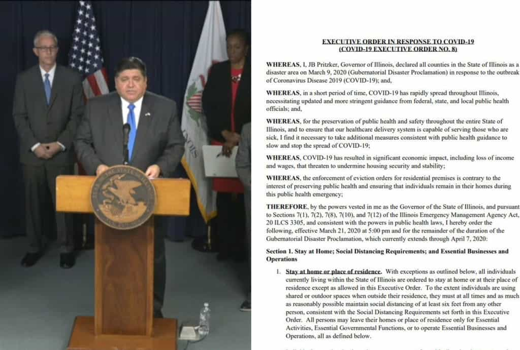 Read Illinois Gov. J.B. Pritzker's entire 'Stay at Home' executive order