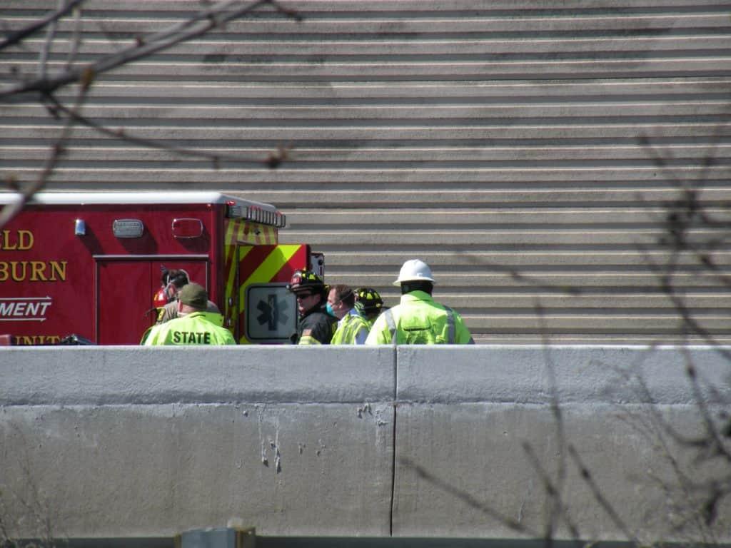 2 killed, 1 critically injured following crash involving 2 semi trucks, SUV near Deerfield