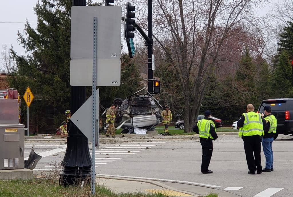 Coroner IDs 24-year-old man killed in high-speed crash in Wadsworth