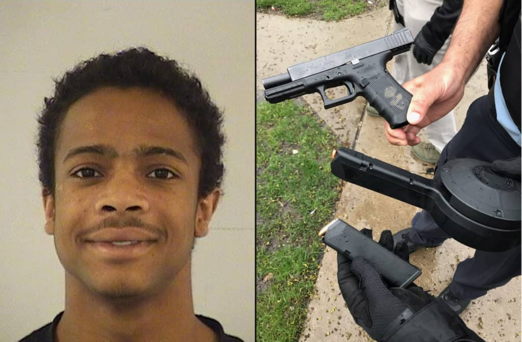 Man charged with shooting at group of people in Beach Park