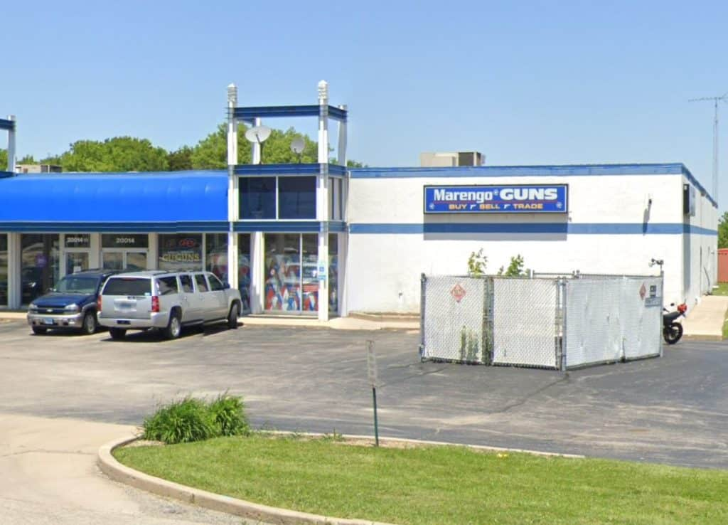 Man hospitalized after accidentally shooting himself at Marengo gun shop