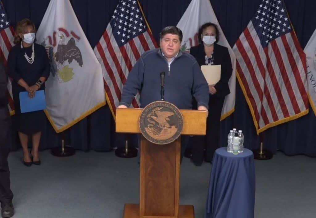 Illinois sees largest increase in coronavirus cases in 24-hour span; Pritzker extends school closures