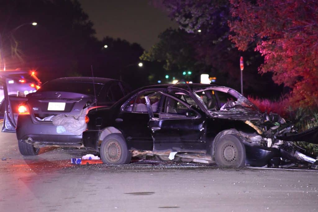 Woman ejected during crash that left 1 critical, 2 seriously injured in Beach Park