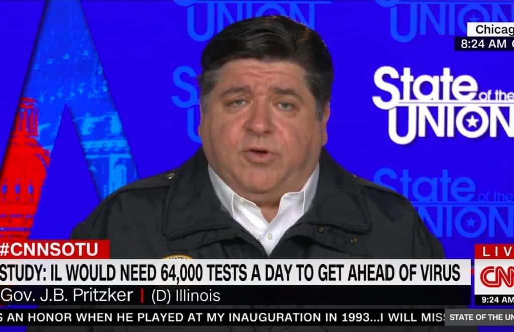 Gov. Pritzker pushes back on reopening plan criticism, says he's 'going it alone'