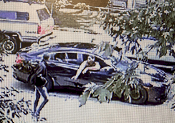Surveillance photos capture daytime shootout in Zion