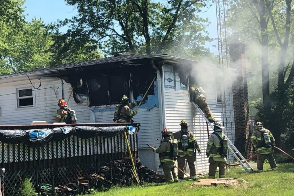 Gurnee firefighter responds to his own house fire that left 2 injured, cat dead