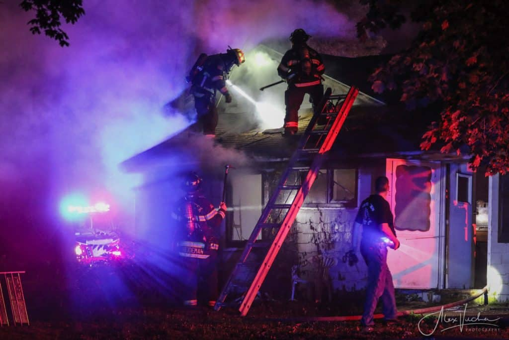 Fire that damaged vacant house in Harvard under investigation