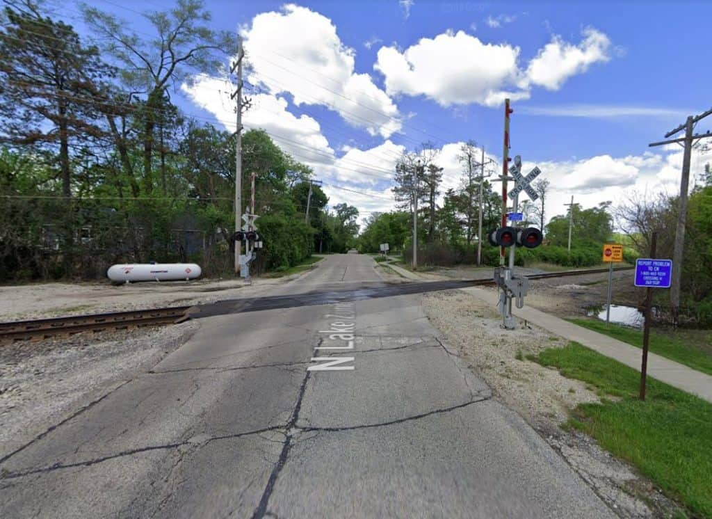 Woman fatally struck by freight train in Barrington