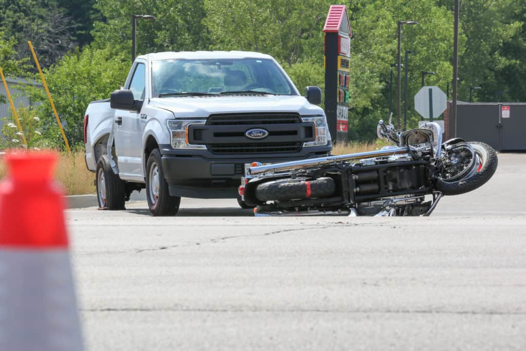 Driver of pickup truck charged after fatally hitting motorcyclist in Woodstock