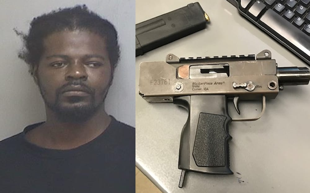 Man arrested after loaded gun found during traffic stop in Zion