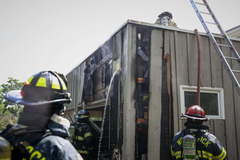 No injuries after attached garage catches fire in Bull Valley