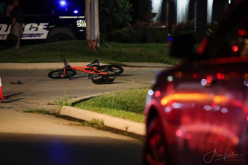 Driver charged after hitting bicyclist, fleeing the scene in McHenry