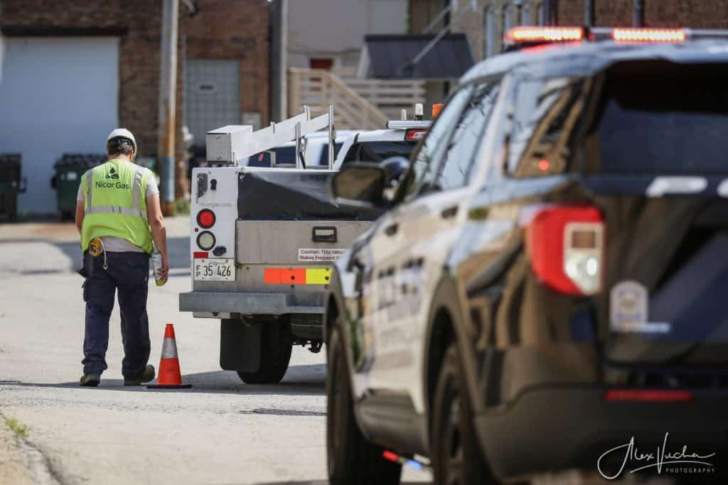 Several businesses evacuated due to gas leak in downtown Crystal Lake