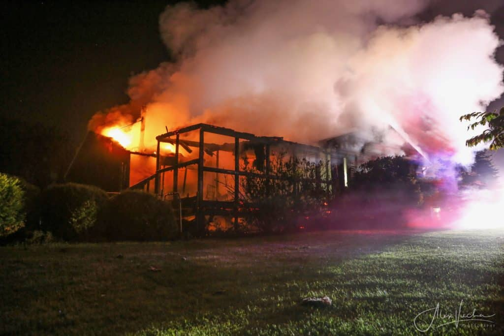 Fire destroys home in Union; no injuries reported